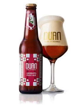 Birra Artigianale - AMBRATA PALE ALE - Duan  33CL