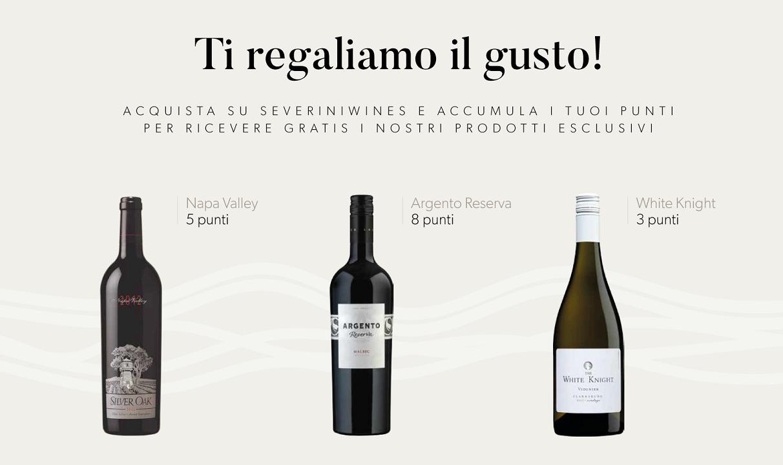 programma fedeltà punti severini wines